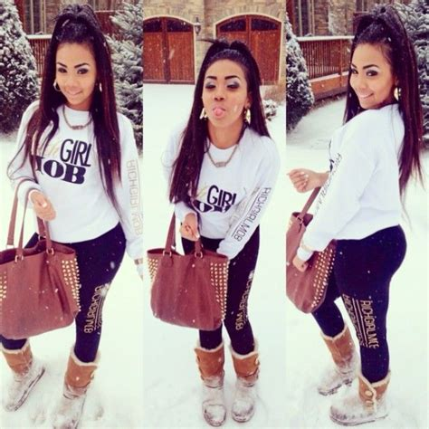 Dope swag style. Cute! | outfits | Pinterest | Joggers Snow and The christmas