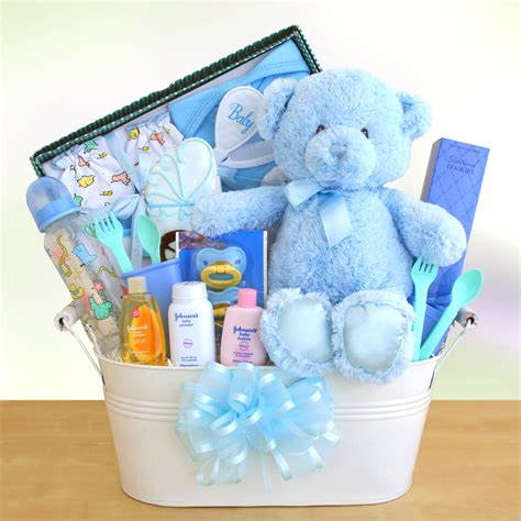 Handcrafted gourmet gifts · egift cards available · monthly gift club New Arrival Baby Boy Gift Basket - Gift Baskets by ...