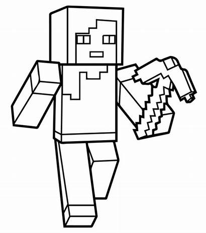Minecraft Coloring Printable