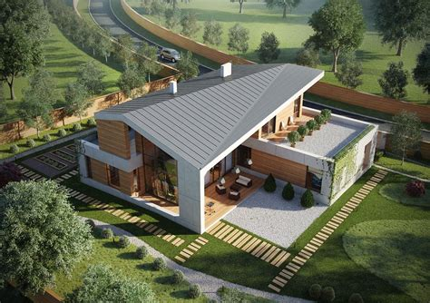 A Set Of Extraordinary Exteriors by A Set Of Extraordinary Exteriors Haus House Design
