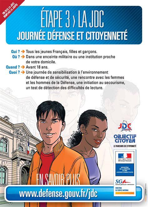 bureau de service national du lieu de recensement journée défense et citoyenneté jdc