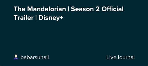 The Mandalorian | Season 2 Official Trailer | Disney+ ...
