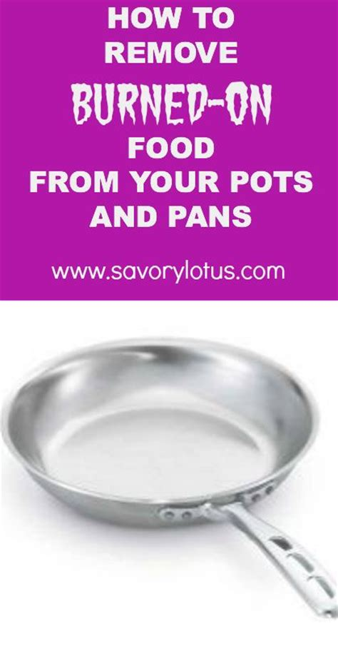 remove burned  food   pots  pans sodas  remove   sell