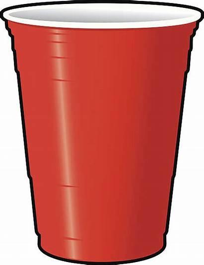 Cup Clipart Cups Plastic Vector Clip Solo
