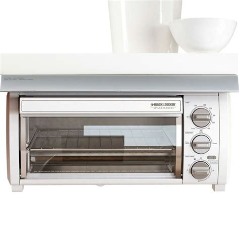 Counter Toaster Oven by Black Decker Cabinet Spacemaker Toaster Oven Bake