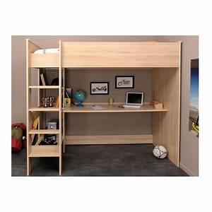 Lit Pour Ado : lit mezzanine pour ado maison design ~ Melissatoandfro.com Idées de Décoration