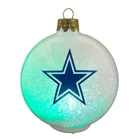 topperscot dallas cowboys nfl led color changing christmas