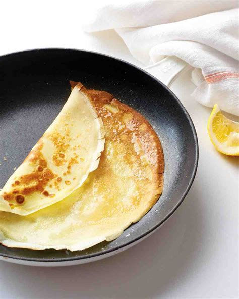 cuisine crepe simple crepes recipe recipe martha stewart