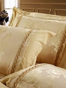 Bettwäsche Set 4 Teilig : goldene luxus bettw sche set 4 teilig baumwolle fantastische print ~ Orissabook.com Haus und Dekorationen