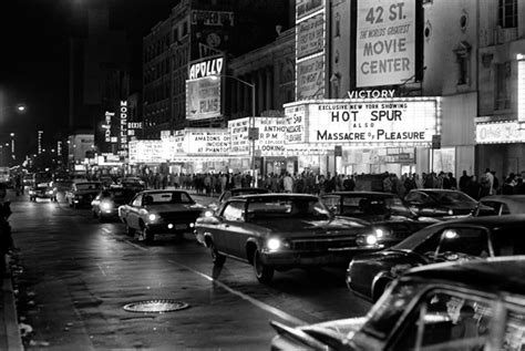 Newark Nj 1970s 42nd Street And Times Square