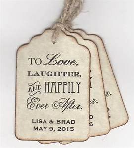 50 custom personalized wedding favor tags shower favor tags With personalized wedding favor tags