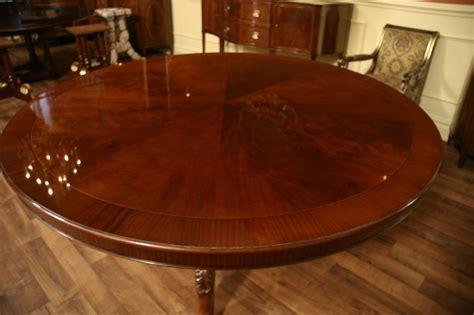 72 Round Table  Mahogany Dining Table  Formal Dining Ebay