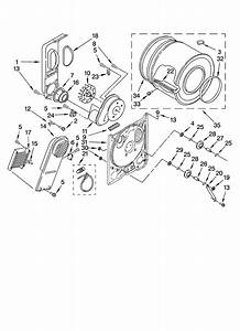 Amana Model Ned5100tq1 Residential Dryer Genuine Parts