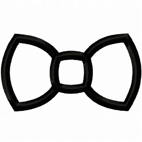 Bowtie Clipart Bow Tie Clipart Template Pencil And In Color Bow Tie