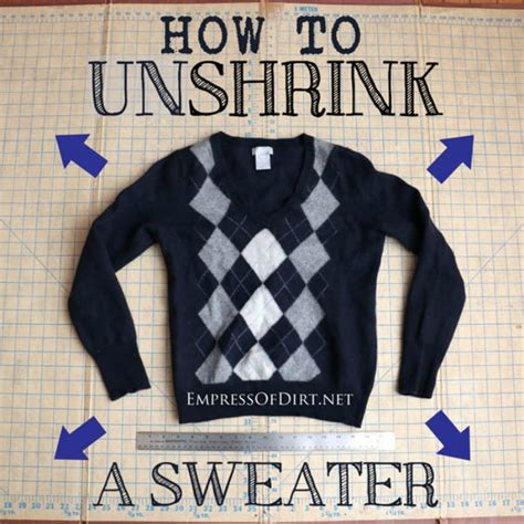 how to unshrink a sweater 12 hacks for bathroom items you already have
