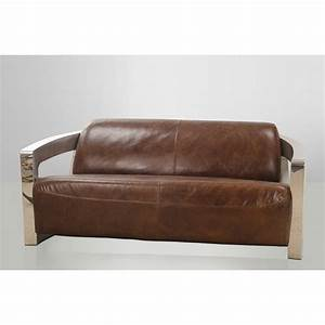 Canapé Vintage Cuir : canap cuir vintage soho ~ Teatrodelosmanantiales.com Idées de Décoration