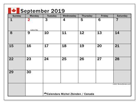september calendar canada michel zbinden en