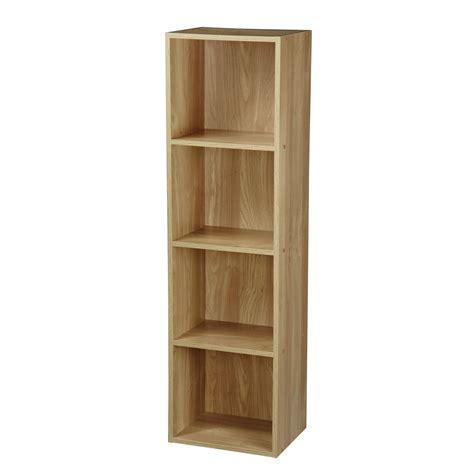 tier wooden bookcase shelving bookshelf storage