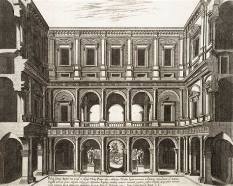 cortile palazzo farnese palazzo farnese roma antonio da sangallo the at