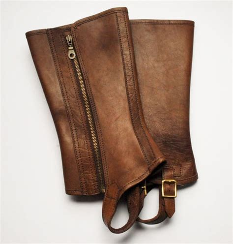 Traditional Leather Gaiters William Evans Ltd