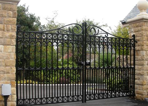 decorative metal garden gates interesting ideas for home