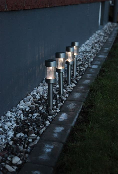 solar driveway lights garden solar lighting ideas and tips