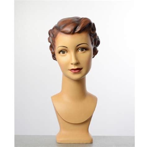 tete de mannequin tete de mannequin femme vintage avec maquillage