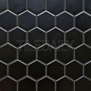 black hexagon floor tile 2 hexagon porcelain mosaic black and white tiledaily