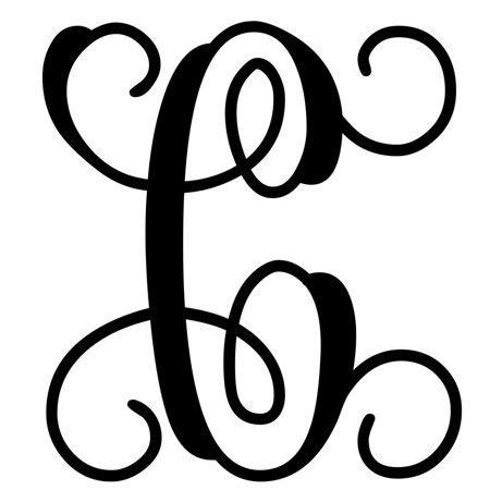 custom decor initial   vine monogram    walmartcom