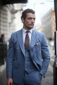 David Gandy Three Piece Suit   Mens Fashion Magazine