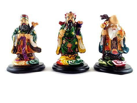 feng shui gods of wealth fuk luk sau three wise men