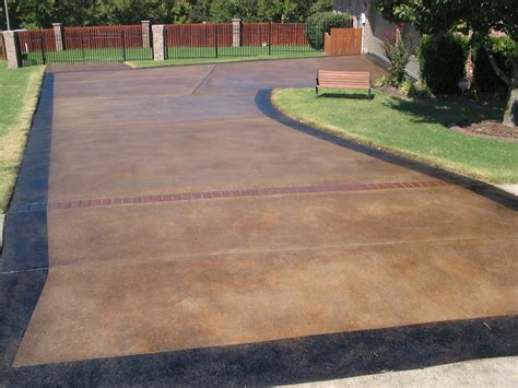 stained driveway ideas driveway concrete stain www imgkid com the image kid has it