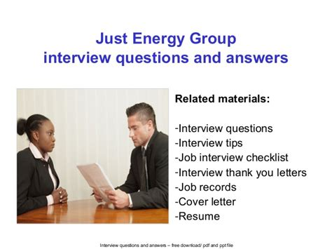 just energy questions and naswers