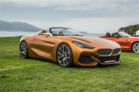 Hello, Beautiful Bmw Concept Z4 Unveiled In Monterey