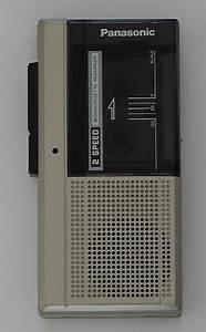 Panasonic Microcassette Voice Tape Recorder Model RN 108 ...