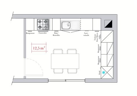 plan cuisine 9m2 plan cuisine 9m2 fabulous cuisine equipee m with plan