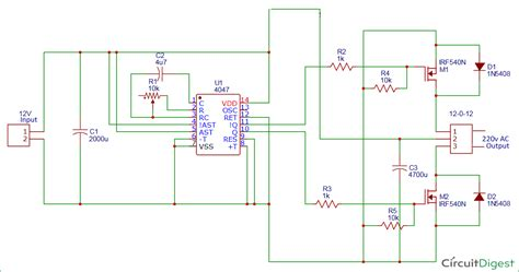 dc to ac schematic dc get free image about wiring diagram
