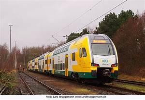 Foto: ODEG Kiss in Elmshorn im Einsatz für die Nordbahn