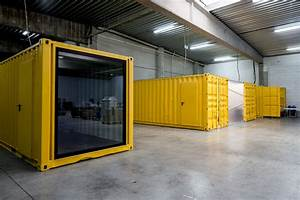 Five am39s shipping container offices we heart for Office in container