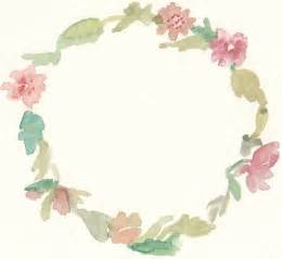 free watercolor floral wreath clip printables creative clip and flower