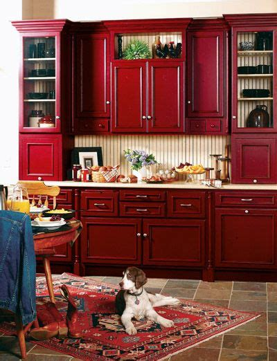 Best 20+ Red Kitchen Cabinets Ideas On Pinterest  Red