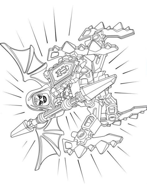 Kleurplaten Nexo Knights Clay by N 29 Coloring Pages Of Lego Nexo Knights