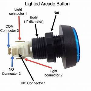 Stealthswitch3 Arcade Button Installation Info For Diy
