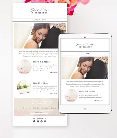 photographer email templates email newsletter template photographer email template by design