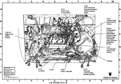 Ford Windstar Fuse Box Diagram Auto Wiring
