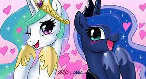 My Little Pony Friendship is Magic images Celestia and ...