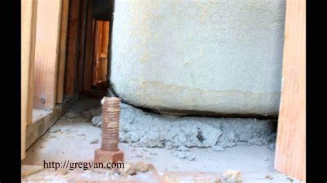biggest problems created   mortar  bathtubs