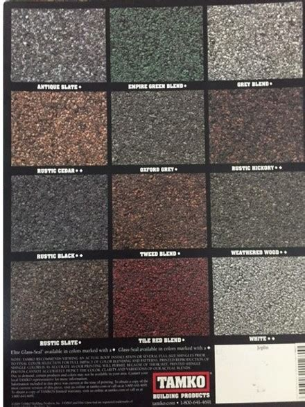 shingles colors tamko roofing colors tamko roofing