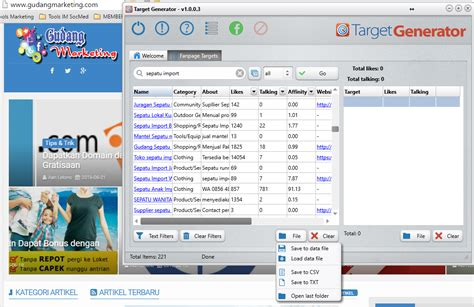 tools target market generator gudang marketing