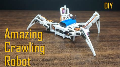 walking spider robot  home  printed crawling robot indian lifehacker youtube